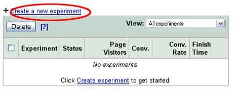 Google Website Optimezer
